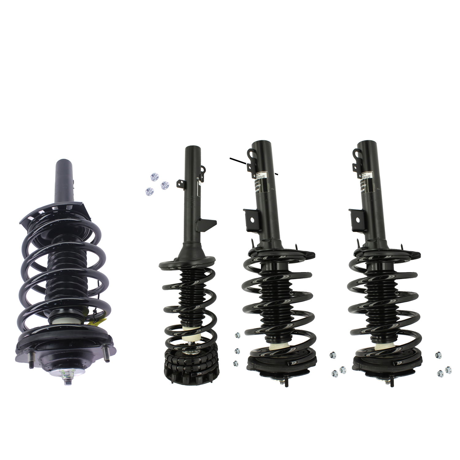 Kyb Strut Plus Shock Spring Assembly Set For 2000 2007 Ford Taurus Fwd Ebay